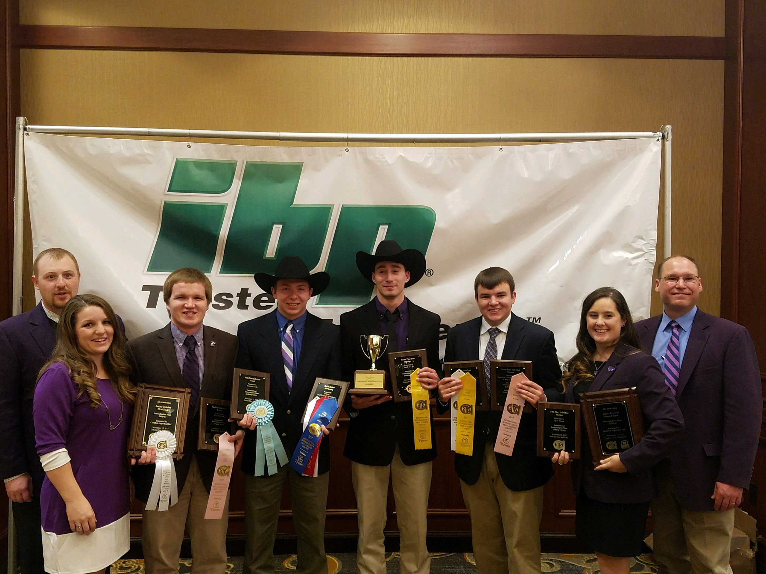 KSU Meat Judging Team