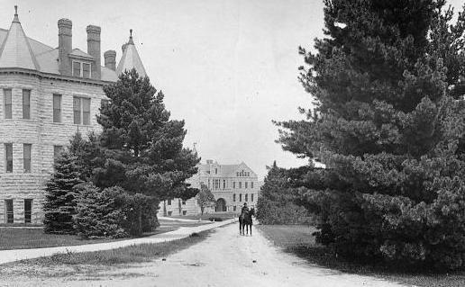 Holton Hall and Dickens Hall, year unknown