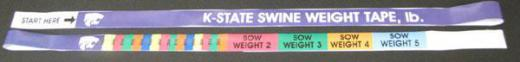 Swine>Sow Weight Tape