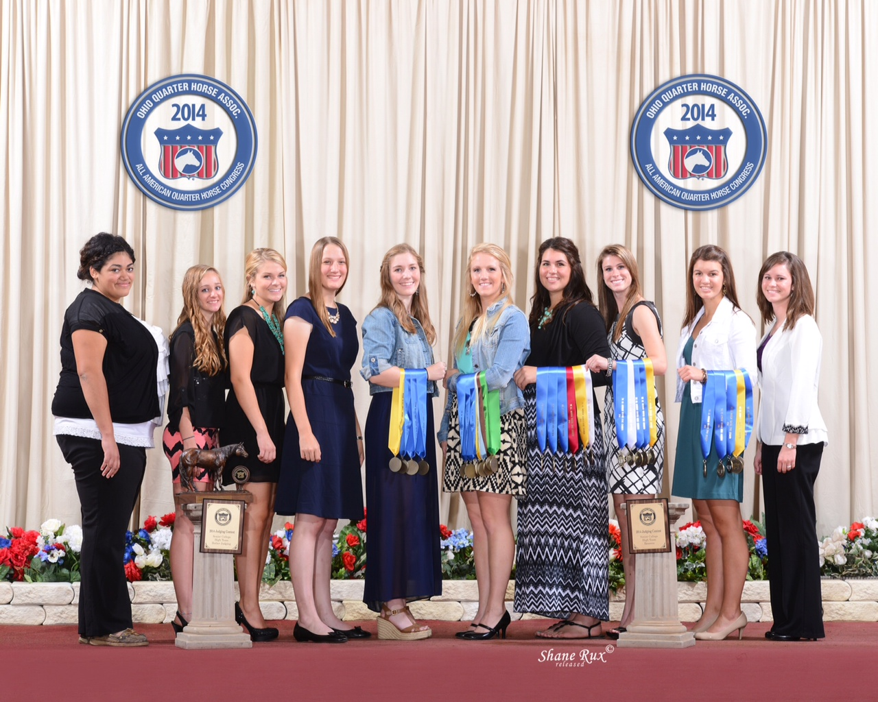 2014 Horse Judging Team Congress